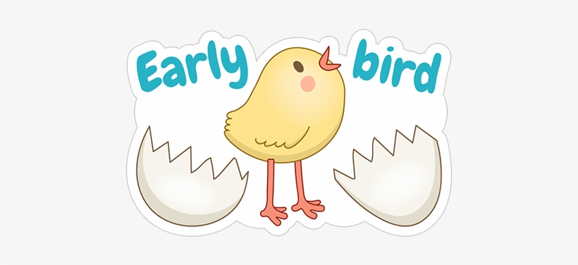 Early Bird - Cartoon PNG Image | Transparent PNG Free