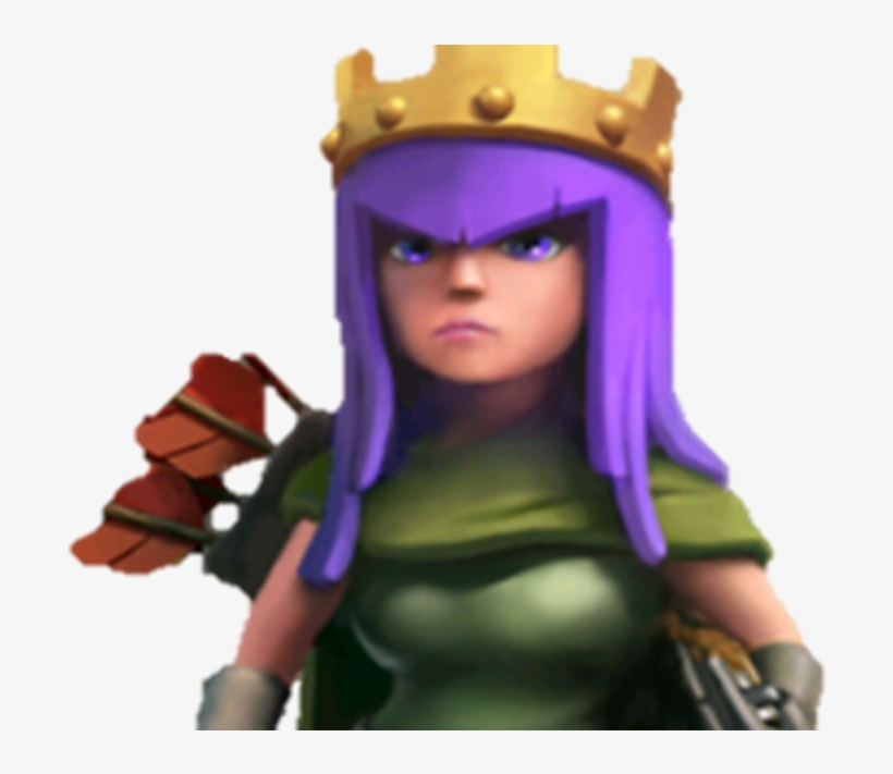 Coc Barbarian King And Archer Queen PNG Image ...