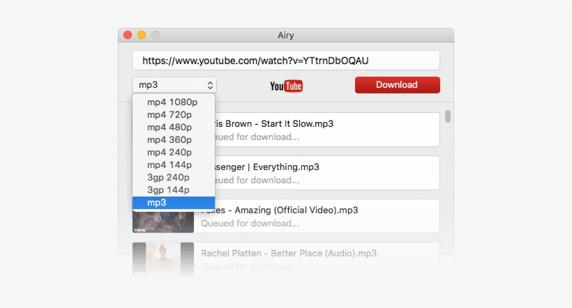youtube mp3 free download mac