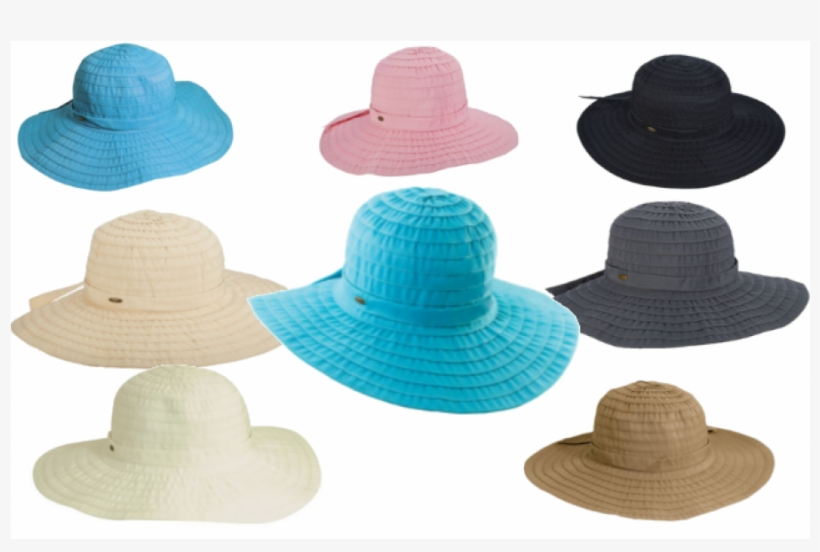 SCALA Women/'s Sewn Ribbon Crusher Hat Black One Size