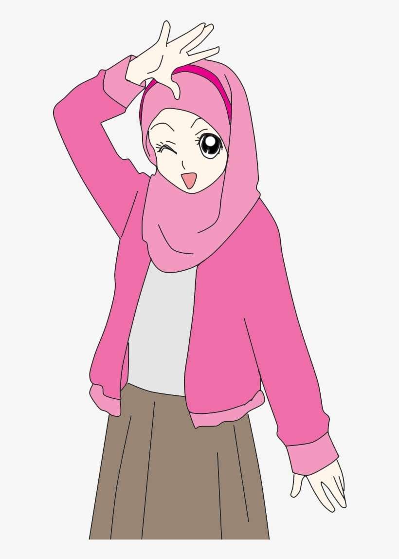 Hijab cartoon cartoon n muslimah anime cute doodles cartoon muslimah