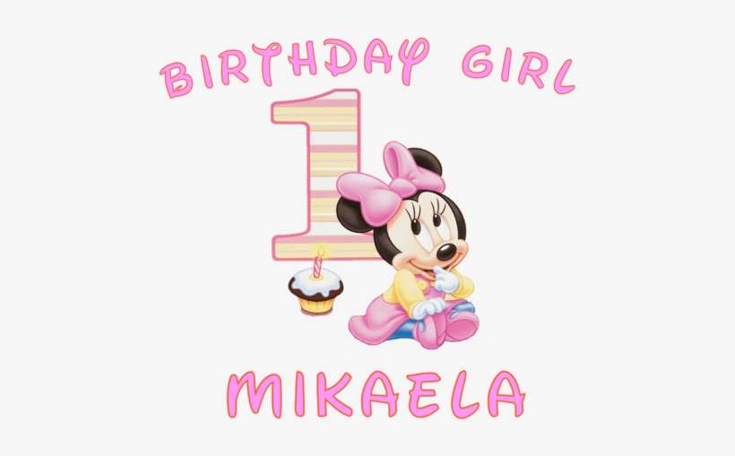15 Minnie Mouse 1st Birthday Png For Free Download Minnie Mouse