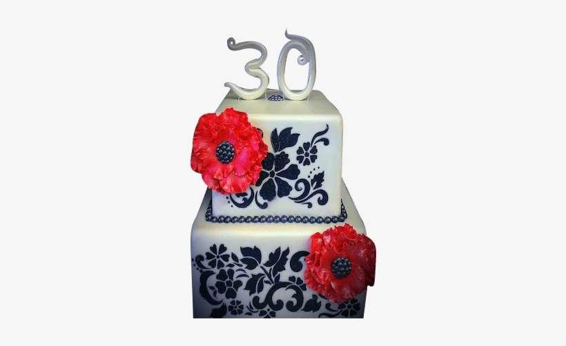 Sensational 30Th Birthday Cake Designer Stencils Floral Explosion Cake Personalised Birthday Cards Vishlily Jamesorg