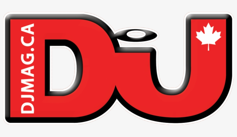 Dj Mag Watermark Logo 860×469 - Disc Jockey PNG Image | Transparent