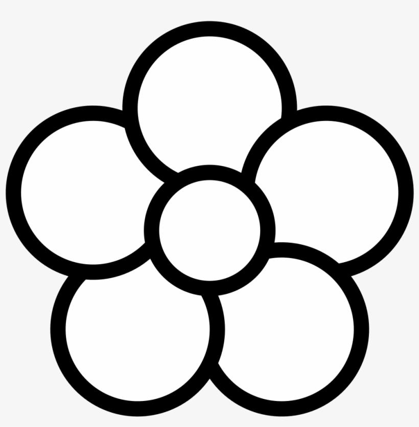 Petal Clipart Flowe Flower Clipart 5 Petals Png Image Transparent Png Free Download On Seekpng