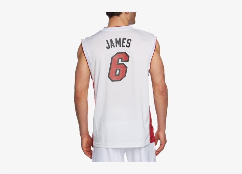 Adidas Men S Miami Heat Lebron James Nba Replica Jersey Lebron James Heat Jersey Png Image Transparent Png Free Download On Seekpng