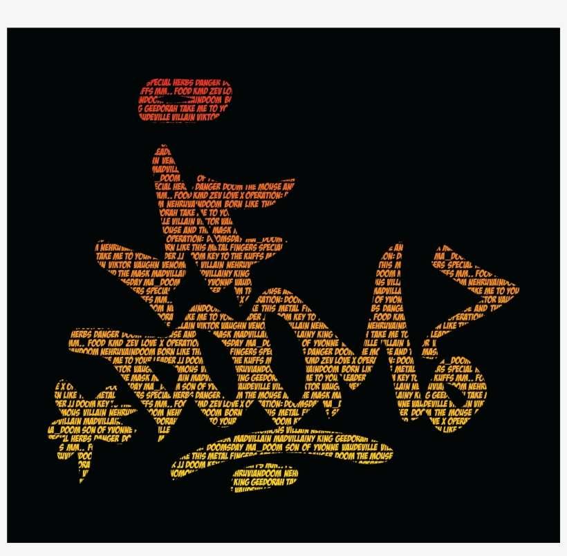 Mf Doom Text Art Mf Doom Png Image Transparent Png Free