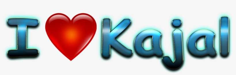 Kajal Love Name Heart Design Png Kajal Name Wallpaper Hd Live