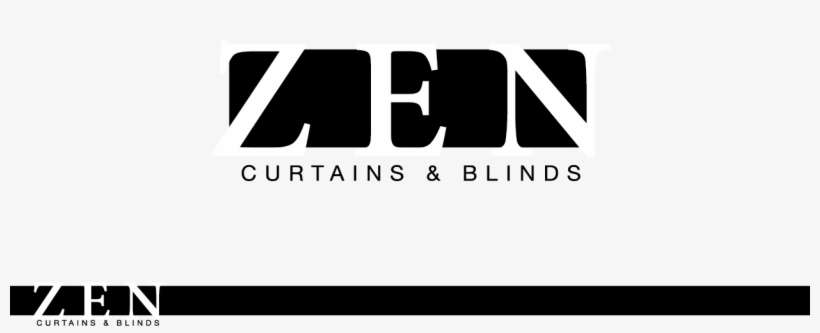 Logo Design By Smdhicks For Zen Curtains & Blinds - Parallel, transparent png download