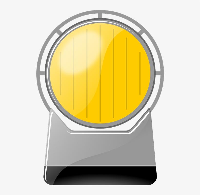 Warning Lamp Flash Roadworks - Flashing Yellow Light Gif PNG