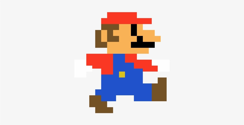 Mario Run Pixel Art Mario Odyssey Png Image Transparent