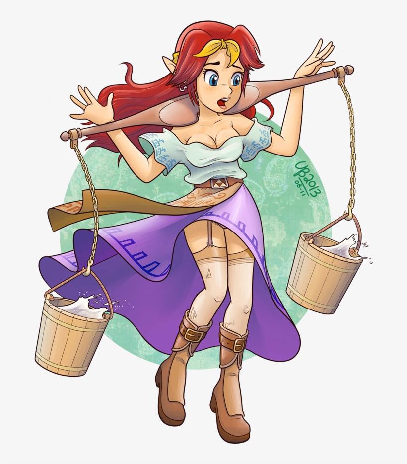 The Legend Of Zelda - Legend Of Zelda Malon Milk PNG Image