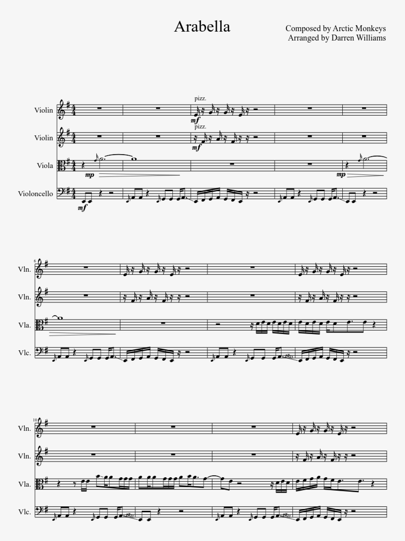 Arabella Sheet Music Composed By Composed By Arctic - Halo
