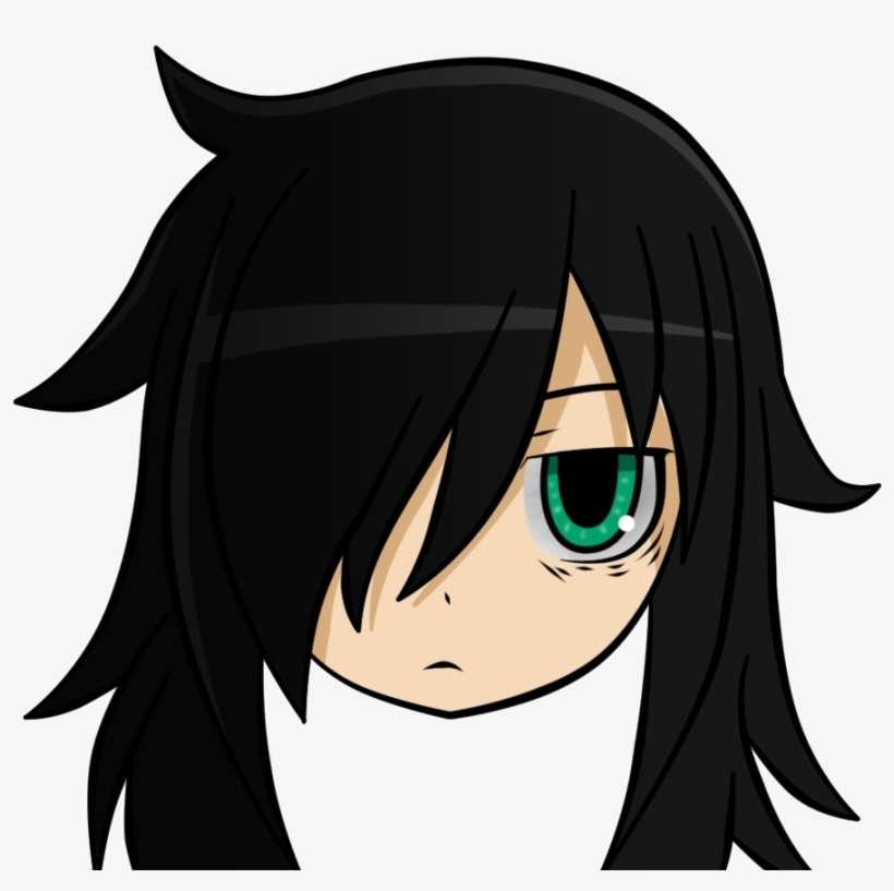 Made Myself A New Avatar - Watamote Tomoko PNG Image | Transparent