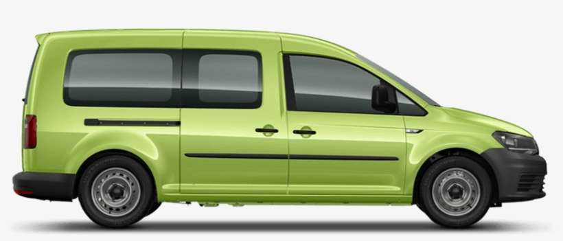 Caddy Window Van - Vw Caddy Maxi Kombi PNG Image | Transparent PNG