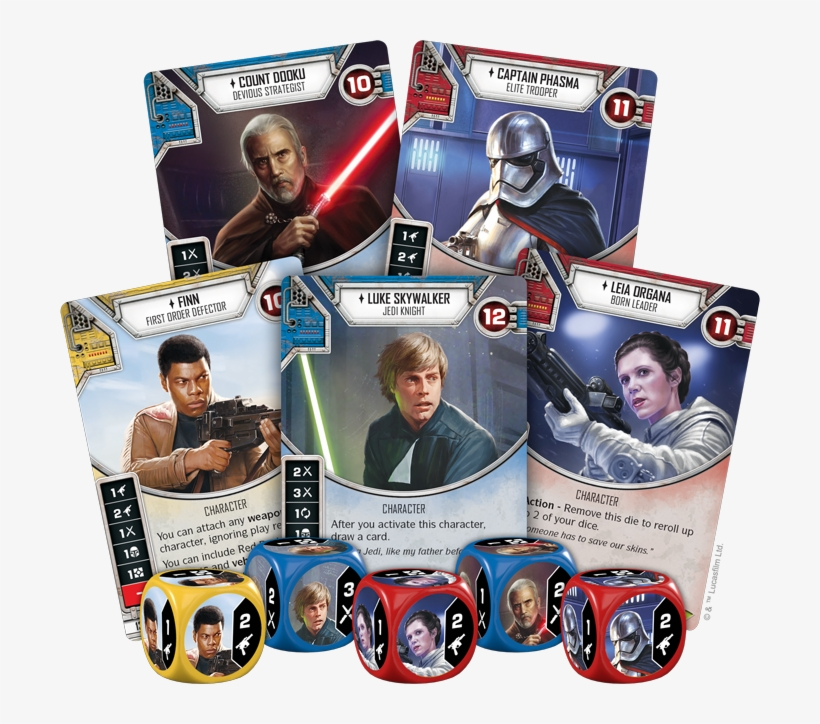 Rey Starter Set Star Wars Destiny