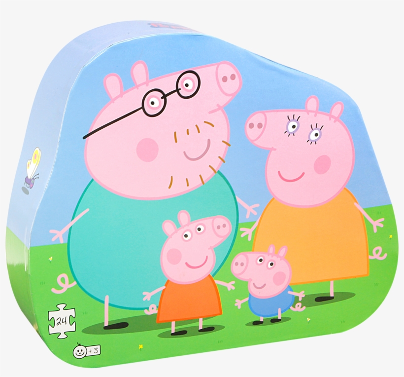 Peppa Pig Family Png 1 4 Sheet Peppa Pig Edible Frosting Cake