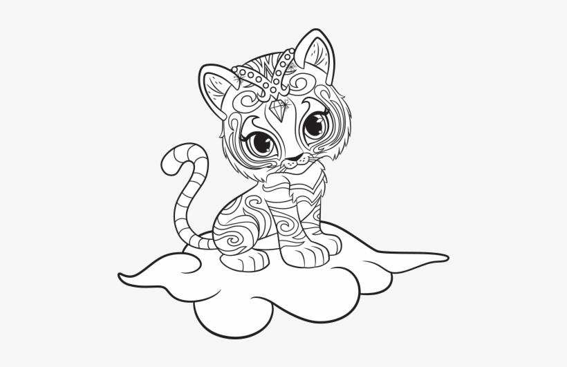 Shimmer and Shine Coloring Pages – coloring.rocks! | 531x820