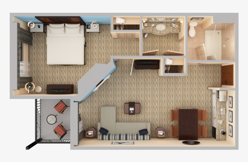 View 3d Floor Plans Array Fireplace Top Down View Png Image Transparent Png Free Download On Seekpng