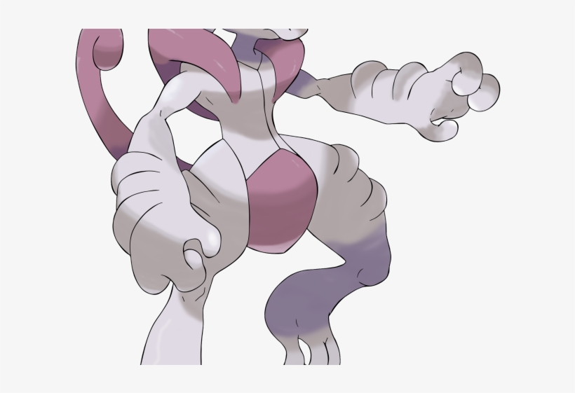 Pokemon Clipart Mewtwo Mega Mewtwo X Png Image Transparent Png