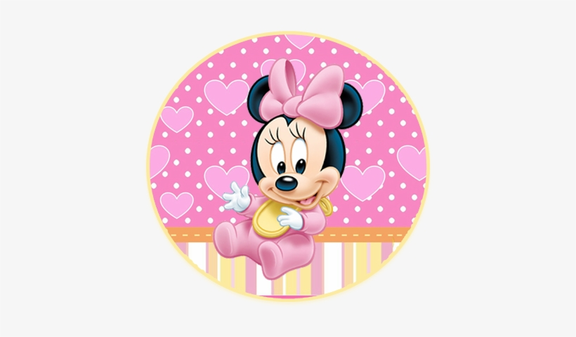 Alfajores3 Candy Bar Minnie Bebe Kit Imprimible Baby Minnie