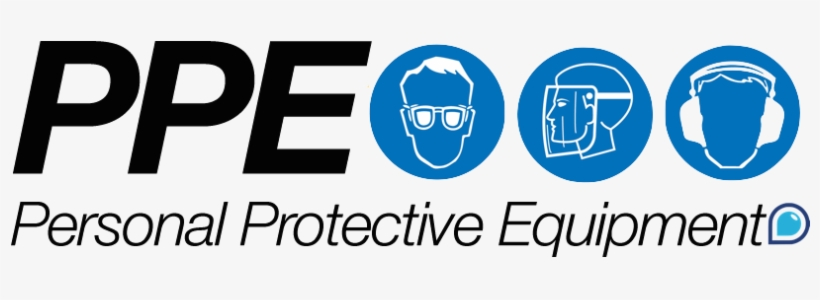 Required Personal Protective Equipment (PPE) Symbol,Safety Icon Isolate On  Wh Stock Illustration #AD ,#Eq…   Personal protective equipment, Wayfinding  signage, Icon
