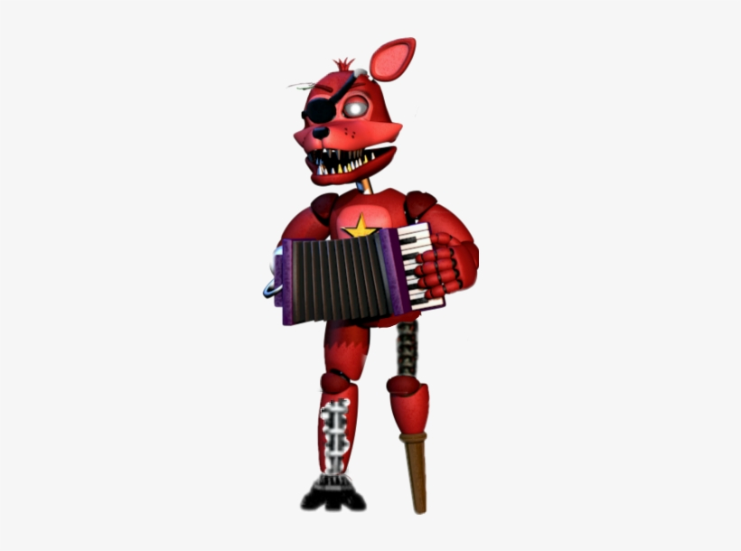 Wither Freetoedit - Rock Star Foxy PNG Image | Transparent