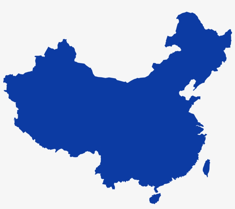 File China Outline Svg China Map Outline Vector Png Image