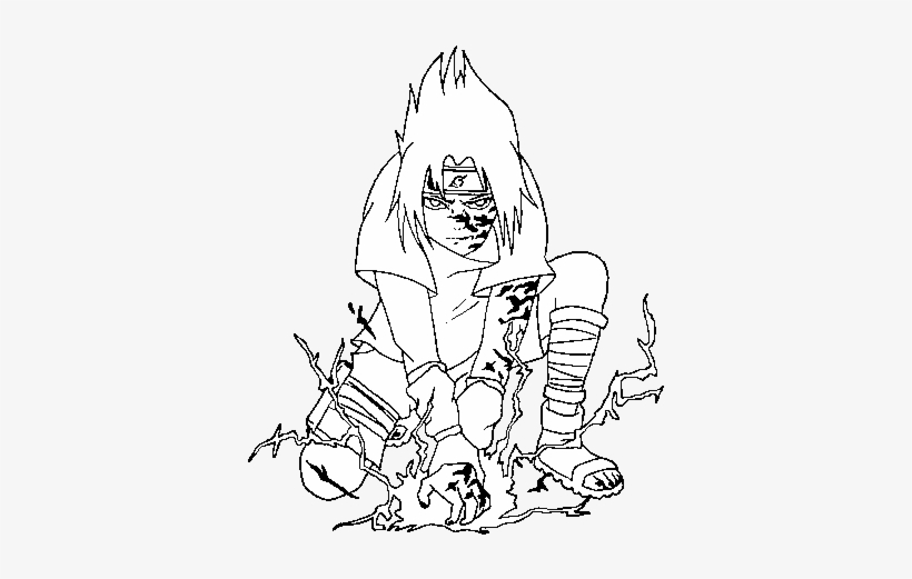 Sasuke Coloring Page Sasuke Uchiha Naruto Coloring Pages Png Image Transparent Png Free Download On Seekpng