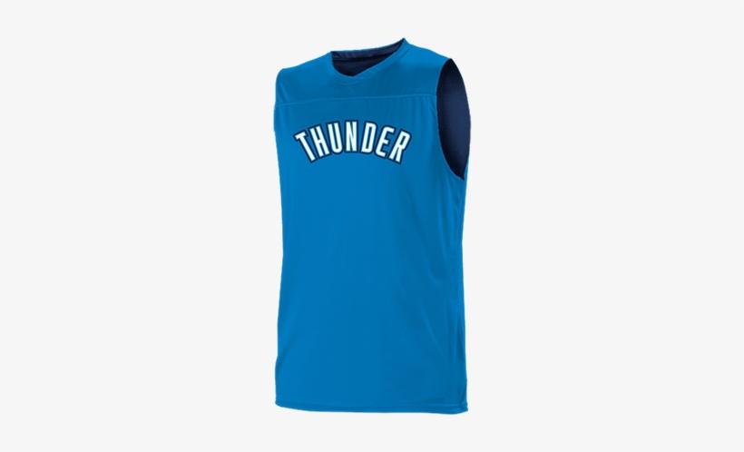 c3a63a2f7 Oklahoma City Thunder Youth Reversible Basketball Jerseys - Oklahoma City  Thunder