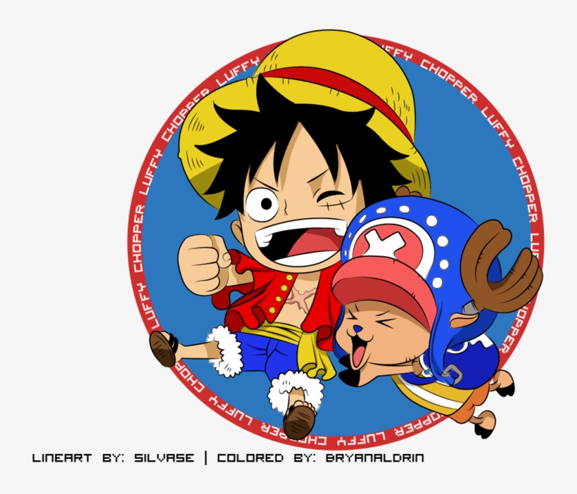 One Piece Fondo De Pantalla Called Luffy Luffy And Chopper Png Png Image Transparent Png Free Download On Seekpng