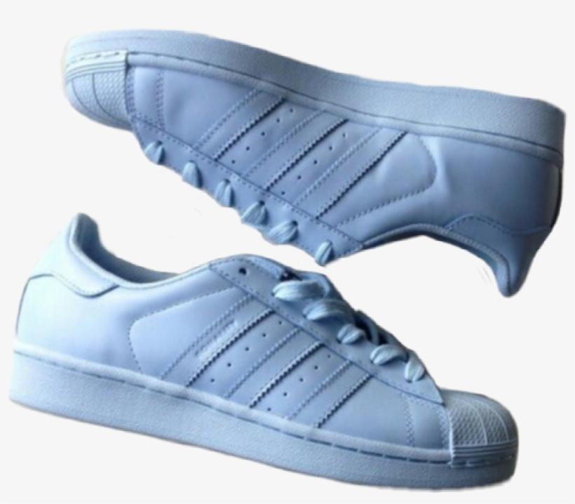 Shoes Aesthetic Blue Adidas Tumblr Png Adidas Shoes Adidas