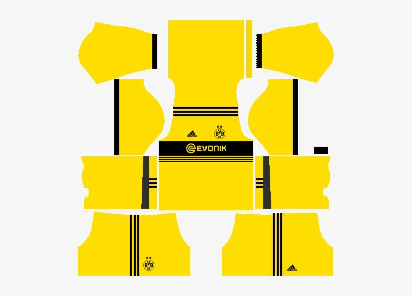 Borussia Dortmund X Adidas Dls Fts Fantasy Kit Kits Dls Borussia Dortmund 2018 Png Image Transparent Png Free Download On Seekpng