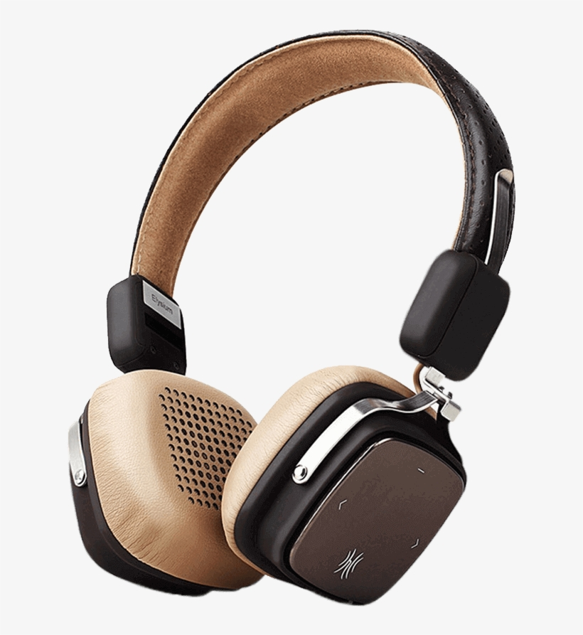 Retro New Styled Wireless Headphones With Mic Vintage Style Headphones Png Image Transparent Png Free Download On Seekpng
