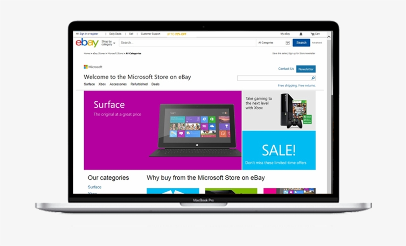 73e693808ed5 An Ebay Store Is An Obvious Choice If You re Interested - Microsoft Store  Online