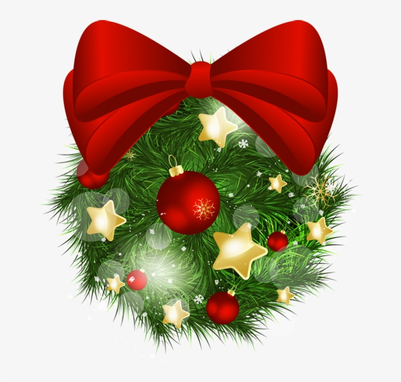Christmas Clipart Transparent Background.Christmas Bow Transparent Background Transparent Christmas