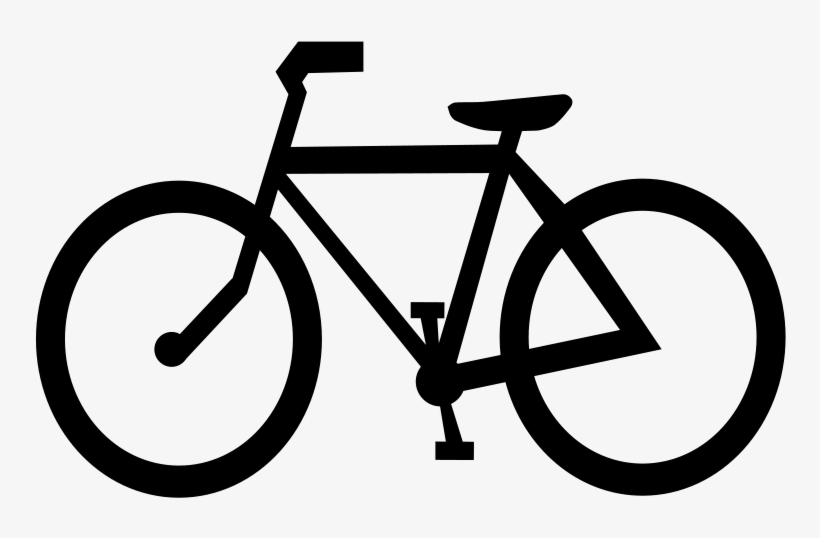 Bicycle Cycling Clip Art Download - Clip Art Black Bike Png PNG Image | Transparent PNG Free Download on SeekPNG