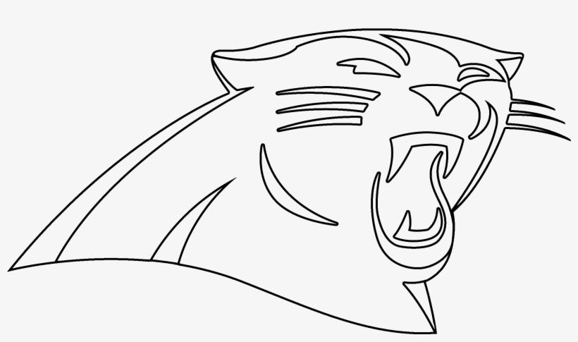 Panther Drawing Outline At Getdrawings - Carolina Panthers ...