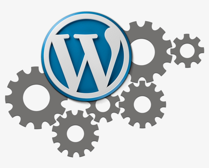 Wordpress Development & Maintenance - Gears Clipart PNG Imag