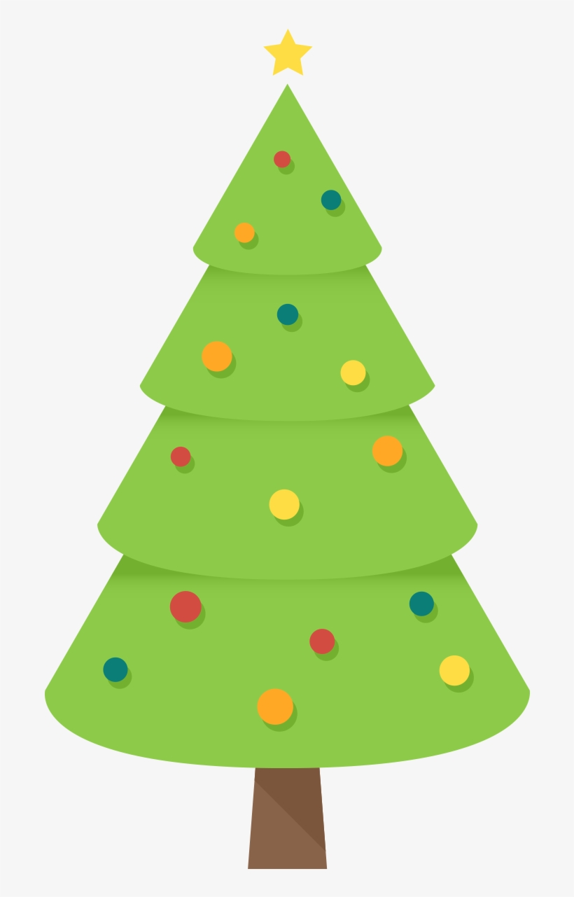 Christmas Tree Clipart Free Clip Art Images Freeclipart Simple Christmas Tree Art Png Image Transparent Png Free Download On Seekpng