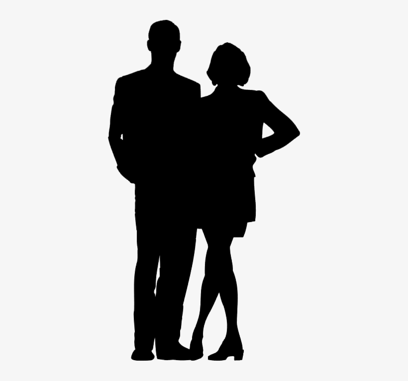 Couple Silhouette Holding Hands Png Download - Silhouette@seekpng.com