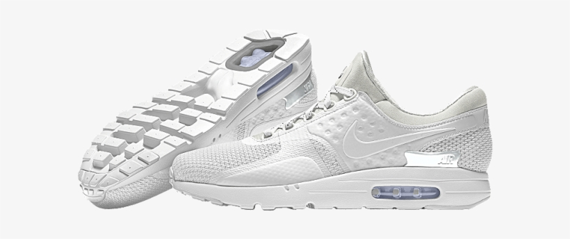 promo code bdac5 0886d ... lowest price 152e7 08b44 All White Nike Air Max Zero, transparent png  download