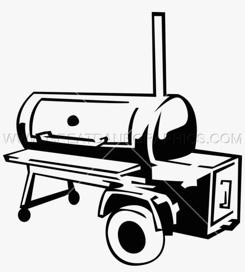 28 Collection Of Bbq Smoker Clipart Free