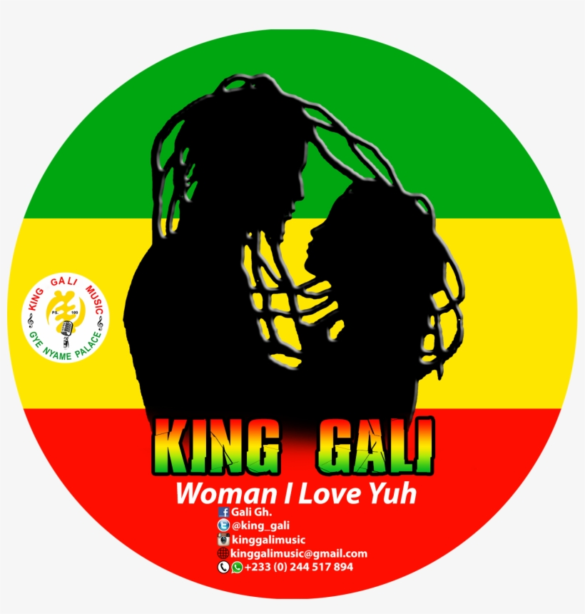 Woman I Love You [download Music] - Ghana Round Flag PNG