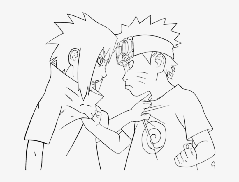 Naruto Team 7 Reunion - Naruto Team 7 Drawing Transparent PNG ... | 626x820