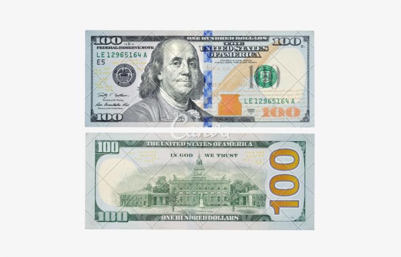 Us 100 Dollar Bill Png Image Transparent Png Free Download On Seekpng