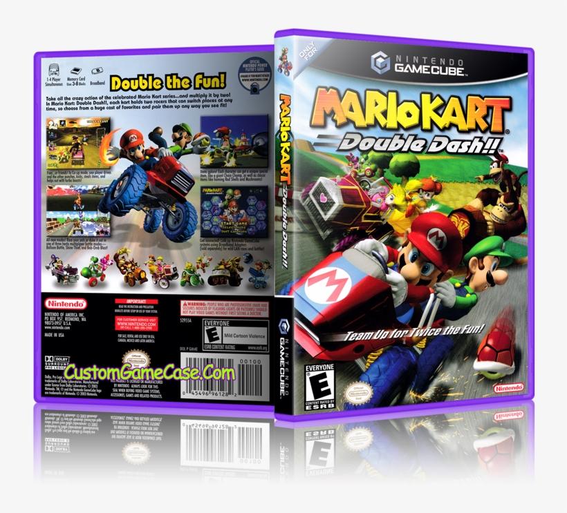 Mario Kart Double Dash Front Cover Mario Kart Double Dash