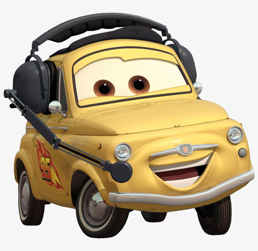 Free The Cars Movie Characters Png Luigi Cars Png Png Image