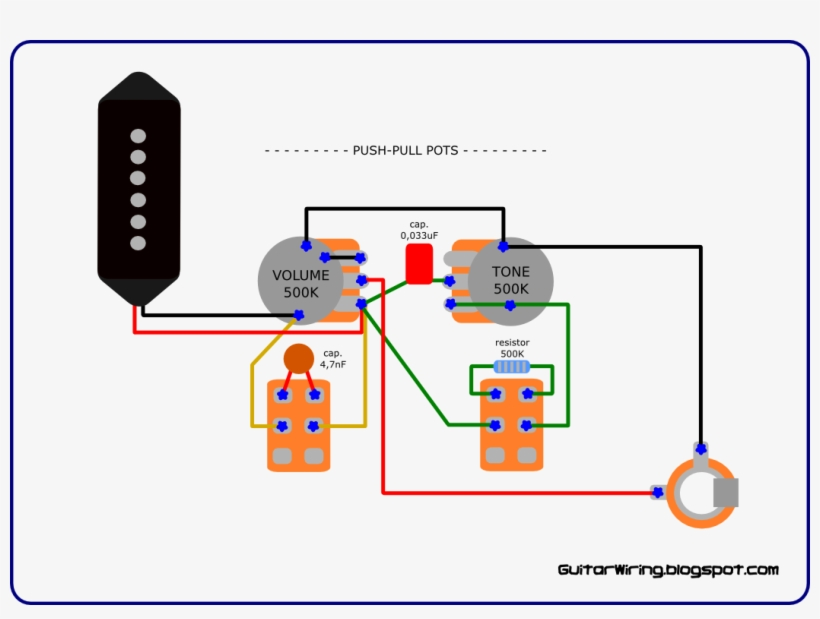 the guitar wiring blog - gibson les paul junior wiring diagram, transparent  png download