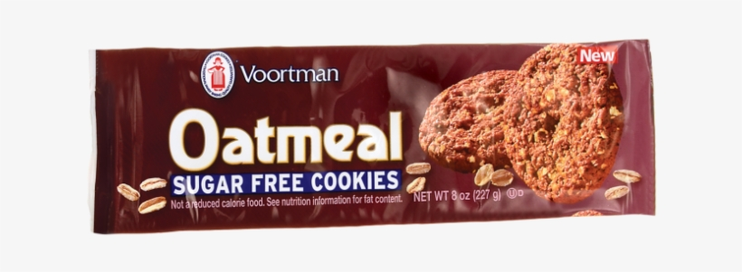 Voortman Sugar Oatmeal Cookies 8oz Bag Voortman Sugar Free Oatmeal